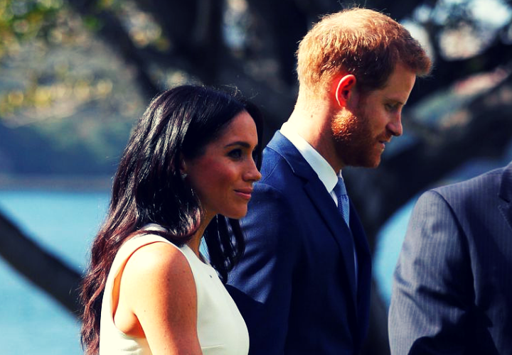 Meghan Markle y el príncipe Harry, duques de Sussex. / RR SS.