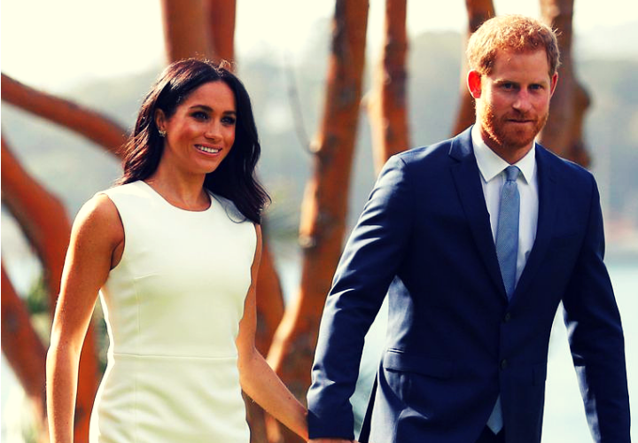 Meghan Markle y el príncipe Harry, duques de Sussex. RR SS.