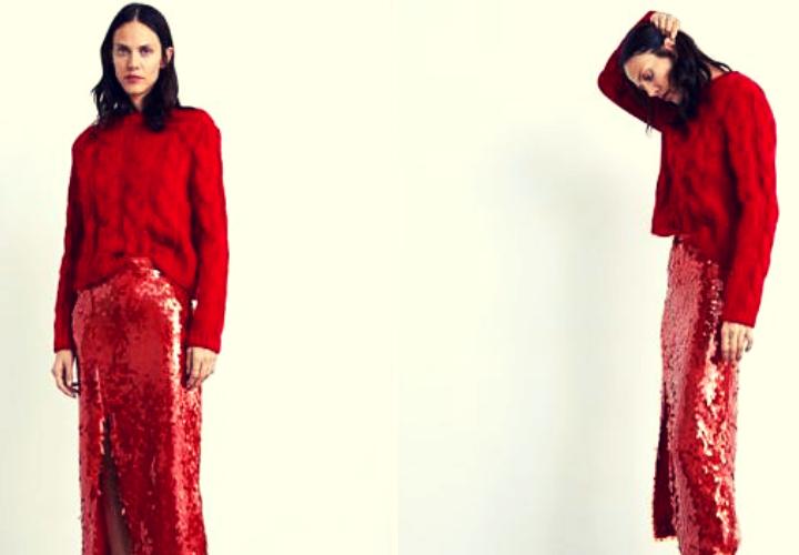 dd4903bed Zara tiene la falda de lentejuelas perfecta para llevar en Navidad ...