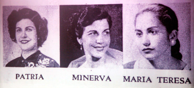 Las hermanas Mirabal.