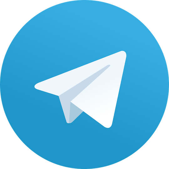 Logo Telegram.