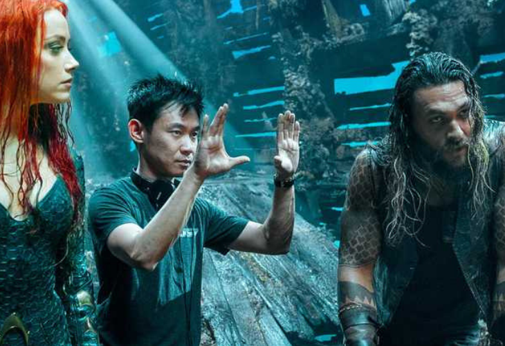 El director James Wan en la película Aquaman. / MovieWeb.