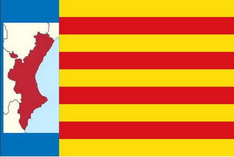 Propuesta de una nueva bandera integradora para la Comunidad Levantina. / RR SS