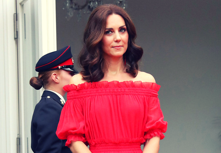 Kate Middleton, duquesa de Cambridge. / RR SS.