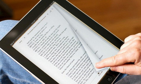 Libros ebook en tablet, imprescindble