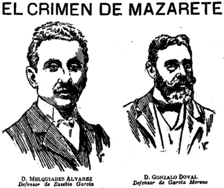 El crimen de Mazarate.