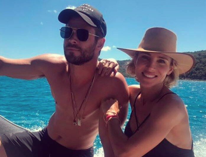 Chris Hemsworth y Elsa Pataky, actores. / Instagram
