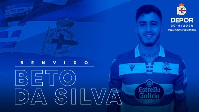 Oficial: Beto da Silva refuerza el ataque del Dépor