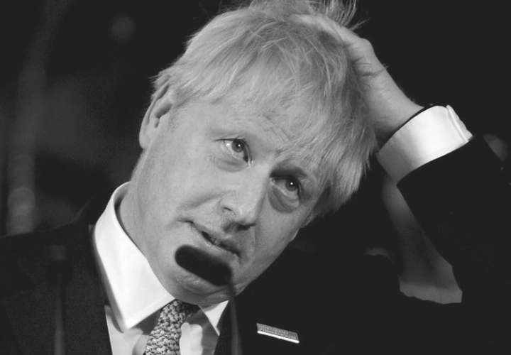 Boris Johnson, primer ministro. RR SS.
