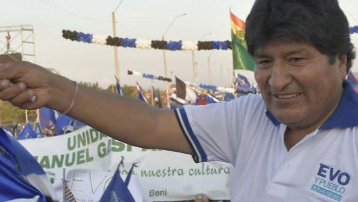 Evo Morales reasume la presidencia del Movimiento al Socialismo