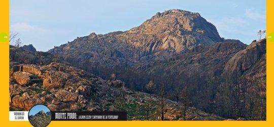 Monte Pindo en el tomo 18