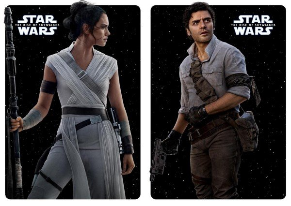 Nuevos pósters de los personajes de Star Wars: The Rise of Skywalker