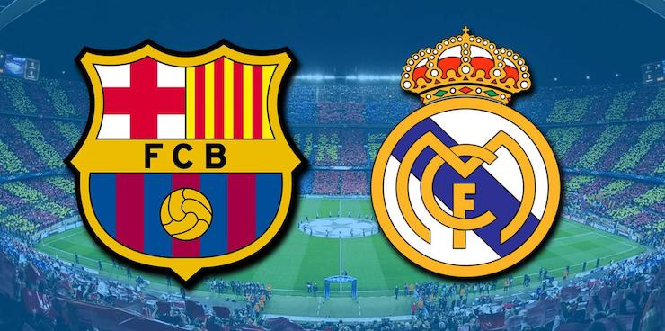 Barcelona-Real Madrid. / RR SS