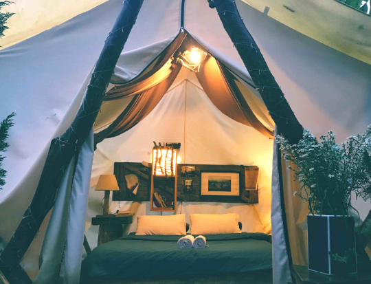 Glamping. Travelandleisure.
