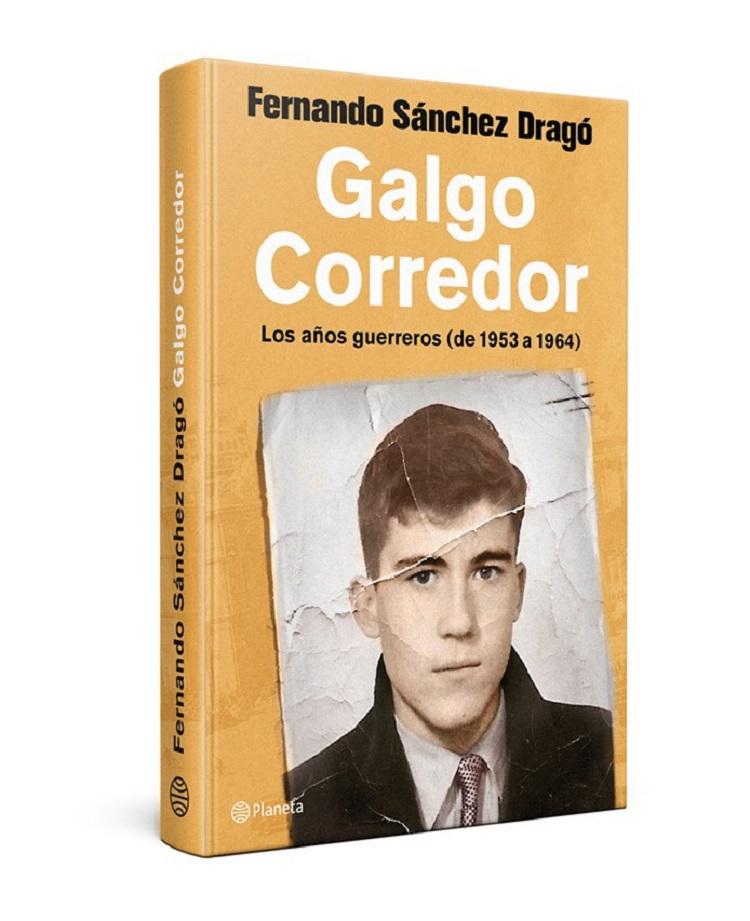 Portada de Galgo Corredor, de Fernando Sánchez Dragó.