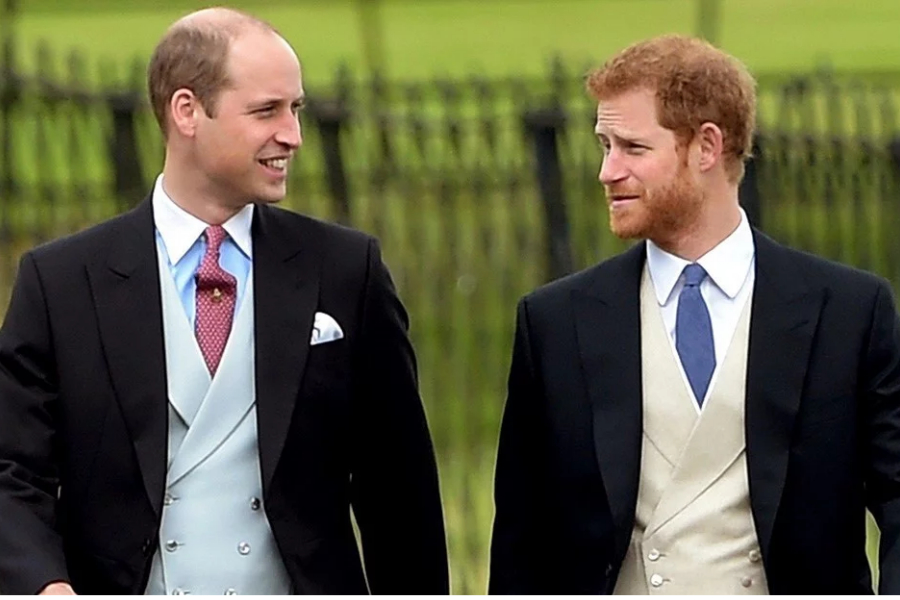 William y Harry./ Instagram