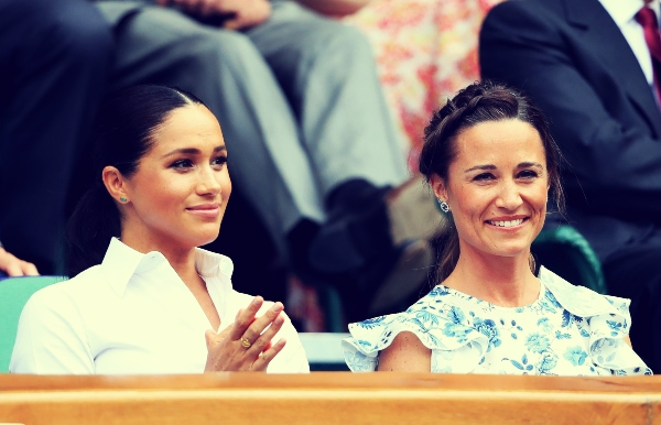 Meghan Markle y Pippa Middleton. / RR SS.