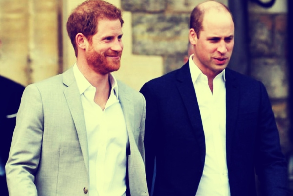 Príncipes Harry y William. / RR SS.