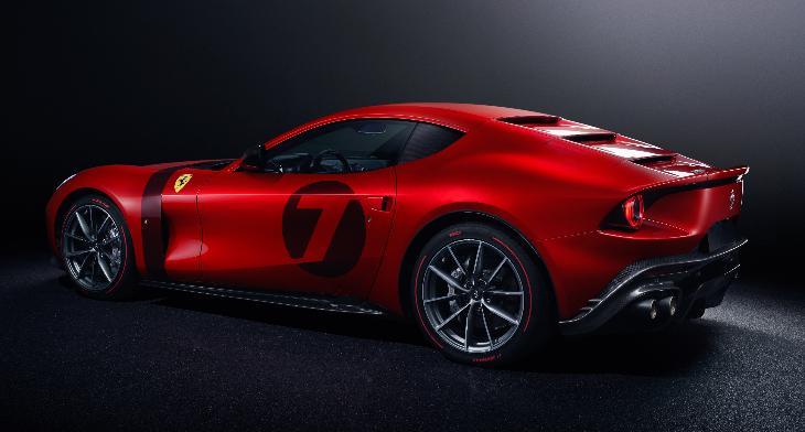 El Ferrari Omologata, exponente de la gran tradición GT de la marca