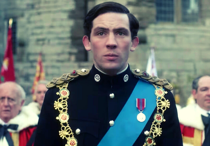 Príncipe Carlos en The Crown. / Netflix.