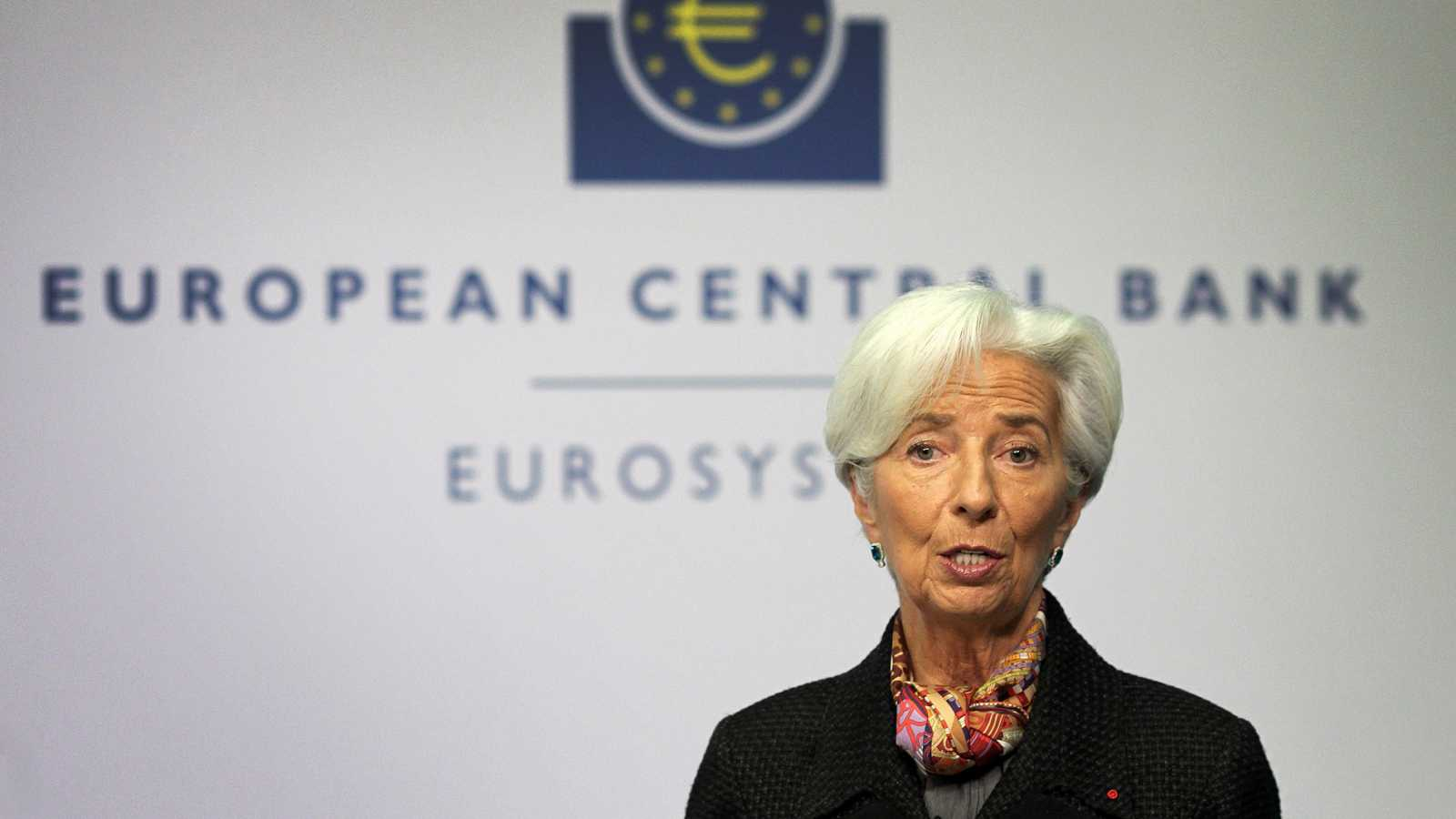 La directora del Banco Central Europeo, Christine Lagarde / RTVE.es