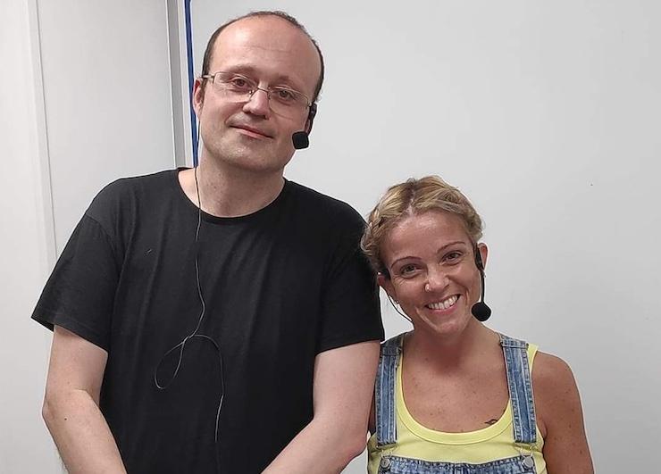 Manuel García e Ilenia Martínez. / Mundiario