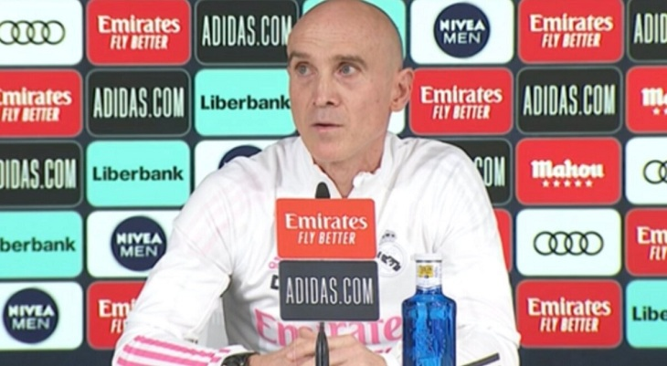 David Bettoni, segundo entrenador del Real Madrid. /  RR.SS.