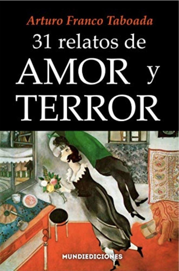 Portada del libro 31 relatos de amor y terror. / Mundiediciones