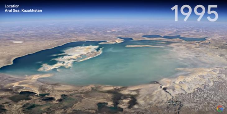 Esta es la actualización de Google Earth que te permite viajar en el tiempo