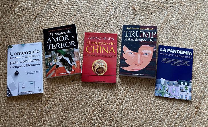 Libros de Mundiediciones. / Mundiario